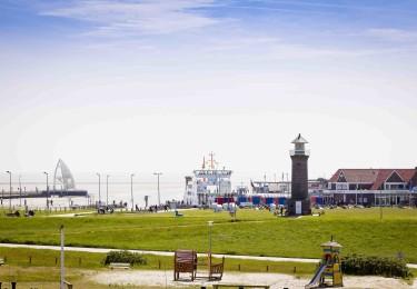 Entdecken Sie den Hafen von Juist